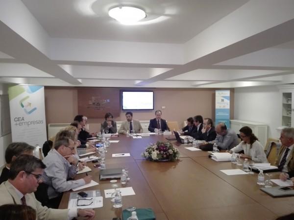 El Consejo de Medio Ambiente de CEA se reúne Martínez Vidal para analizar la Estrategia Andaluza de Calidad del Aire