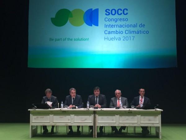 Éxito en la celebración del Congreso Internacional de Cambio Climático en Huelva