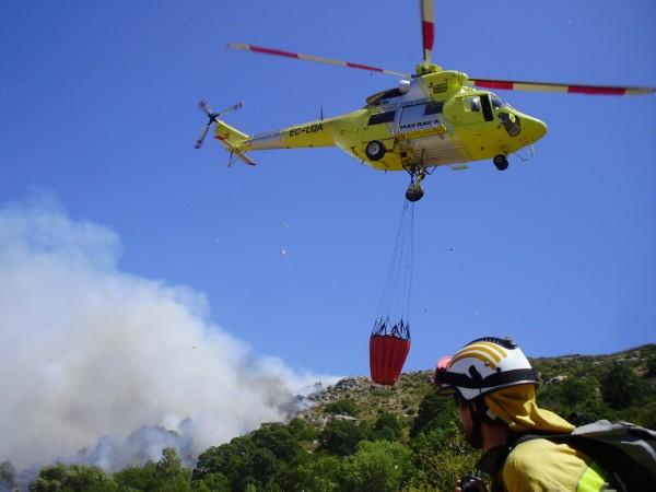 El incendio forestal de Moguer afecta a 8.486 hectáreas de arbolado y matorral