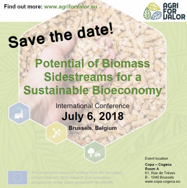 Bruselas acogerá en julio la conferencia final del proyecto Agriforvalor