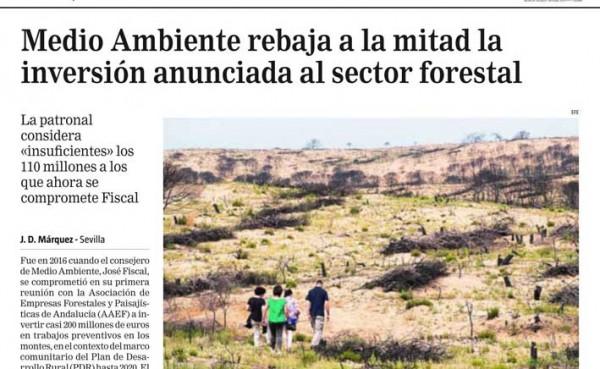 AAEF, en La Razón de Andalucía